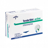 Повязка круглая TenderWet 24 active 4.0 см. 10 шт..